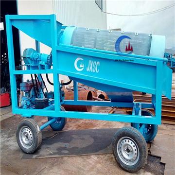滚筒筛厂家:滚筒洗石机的六大优势